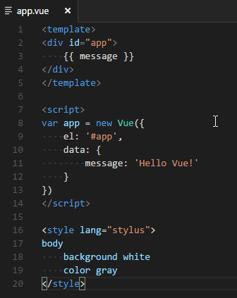 Vue 2 Snippets1